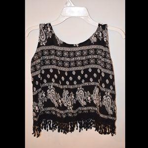 Tribal Fringe Tank Top | Kids' Clothing | Girls